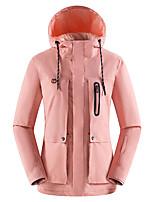 Недорогие -Жен. Куртка софтшелл для туризма и прогулок Куртка для туризма и прогулок на открытом воздухе Осень Зима Водонепроницаемость С защитой от ветра Теплый Удобный Верхняя часть