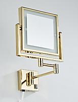 Недорогие -Зеркало Зеркальная поверхность Современный современный Нержавеющая сталь Украшение ванной комнаты