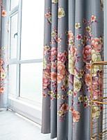 Недорогие -Modern Конфиденциальность 1 панель Занавес Спальня   Curtains