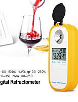 Недорогие -Dr401 цифровой дисплей рефрактометр Брикс 0-50% алкоголя 022% рефрактометр пиво вино фруктовый виноград сахарный сахариметр