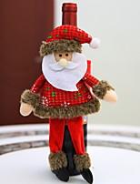 Недорогие -Рождественские украшения Праздник Полиэстер Мини Оригинальные Рождественские украшения