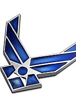 Недорогие -наклейки украшения автомобиля модифицированные металлические воздушные логотип автомобиля наклейки кузова хвостовой стороны стандартные наклейки листовой доски