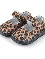 Недорогие -Девочки Удобная обувь Синтетика На плокой подошве Маленькие дети (4-7 лет) Белый / Пурпурный / Красный Осень