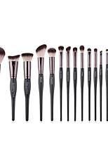 Недорогие -профессиональный Кисти для макияжа 15шт Мягкость Cool удобный Деревянные / бамбуковые за Косметическая кисточка