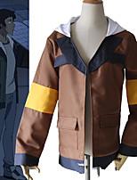 Недорогие -Вдохновлен Voltron Косплей Аниме Косплэй костюмы Японский Косплей вершины / дна Пальто Назначение Муж.