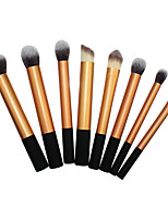 Недорогие -профессиональный Кисти для макияжа 8шт Мягкость Новый дизайн удобный Алюминиевый сплав 7005 за Косметическая кисточка