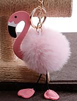 Недорогие -Брелок Птица корейский Милая Мода Модные кольца Бижутерия Белый / Розовый Назначение Повседневные На выход