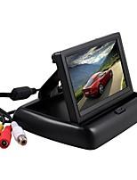 Недорогие -24 В 4,3-дюймовый складной автомобильный монитор обратная камера парковочная система TFT ЖК-дисплей камеры