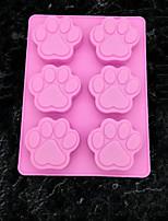 Недорогие -1шт кремнийорганическая резина Необычные гаджеты для кухни Животный принт Десертные инструменты Инструменты для выпечки