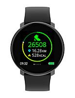 Недорогие -Для пары Смарт Часы Цифровой Стильные силиконовый Черный 30 m Пульсомер Bluetooth Smart Аналоговый Мода - Черный Два года Срок службы батареи / Нержавеющая сталь