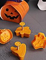 Недорогие -4шт Дерево Halloween Необычные гаджеты для кухни Десертные инструменты Инструменты для выпечки