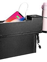 Недорогие -usb зарядное устройство автокресло щель для хранения ячеек щель наполнителя органайзер ловушка кубок держатель