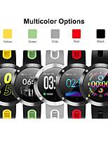 Недорогие -Смарт Часы Цифровой Современный Спортивные силиконовый 30 m Защита от влаги Пульсомер Bluetooth Цифровой На каждый день На открытом воздухе - Черный Черный / Желтый Черный / зеленый