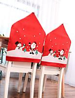Недорогие -Праздничные украшения Новый год / Рождественский декор Рождество / Рождественские украшения Для вечеринок / Декоративная Красный 2pcs