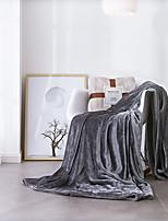 Недорогие -Одеяла / Детские одеяла / Многофункциональные одеяла, Однотонный Бархат Обогреватель Очень мягкий одеяла