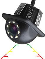 Недорогие -ziqiao автомобильная камера заднего вида универсальная резервная парковочная камера 8 светодиодов ночного видения
