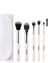 Недорогие -профессиональный Кисти для макияжа 6шт Очаровательный Мягкость Новый дизайн удобный Пластик за Косметическая кисточка