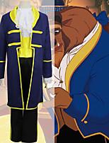 Недорогие -Вдохновлен Косплей Шахматы Бель Аниме Косплэй костюмы Японский Косплей Костюмы Косыночная повязка / Пальто / Блузка Назначение Муж. / Брюки / Пояс / лента