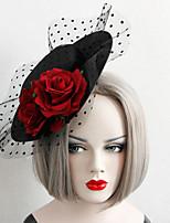 Недорогие -Жен. лакомство Массивный Винтаж Ткань Сплав шляпа Заколки для волос Для вечеринок Halloween