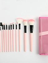 Недорогие -профессиональный Кисти для макияжа 12шт Очаровательный Мягкость Новый дизайн удобный Пластик за Косметическая кисточка