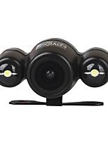 Недорогие -ziqiao универсальный hd ccd 170 градусов ночного видения водонепроницаемая камера заднего вида с 2 светодиодами