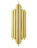 Недорогие -в нордическом стиле светодиодные настенные светильники гостиная столовая металлическая спальня прикроватная лампа g9 цоколь золотой отделкой