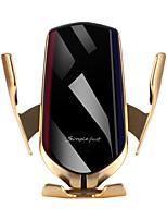 Недорогие -R1 10 Вт автомобильное беспроводное зарядное устройство с автоматическим зажимом держатель телефона для iphone samsung huawei lg инфракрасная индукция ци держатель зарядного устройства gps