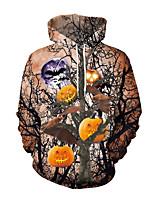 Недорогие -Скелет / Череп Косплэй Kостюмы Взрослые Муж. Стиль Хэллоуин Хэллоуин Фестиваль / праздник Полиэстер Розовый Муж. Карнавальные костюмы / Кофты