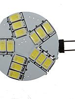 Недорогие -G4 15SMD 5630 Светодиодная лампа точечного света 330LM-360LM чистый / теплый белый