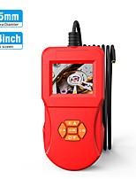 Недорогие -5.5-миллиметровая промышленная камера для осмотра эндоскопа 2.4inch ips hd экран ip67 Ручная камера для осмотра эндоскопа с 6 светодиодными бороскопами