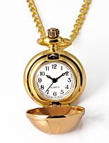 Недорогие -Муж. Карманные часы Кварцевый Старинный Золотистый Творчество Новый дизайн Повседневные часы Аналого-цифровые На каждый день - Золотой