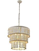 Недорогие -винтажная люстра свечи / из дерева ручной работы ретро-подвесной светильник с креативным управлением / 6 лампочек e12 / лампа e14 в комплект не входит / 110-120v 220-240v