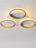 Недорогие -CONTRACTED LED® 3-Light геометрический Потолочные светильники Рассеянное освещение Окрашенные отделки Металл LED, Новый дизайн 110-120Вольт / 220-240Вольт Теплый белый / Холодный белый