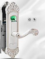 Недорогие -Factory OEM ZN-1099 сплав цинка Блокировка отпечатков пальцев Умная домашняя безопасность Android система Отпирание отпечатка пальца Дом / офис Деревянная дверь (Режим разблокировки отпечаток пальца)