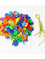 Недорогие -Конструкторы 1 pcs Числа совместимый Legoing Для школы Ручная работа Взаимодействие родителей и детей Все Игрушки Подарок