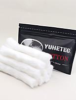 Недорогие -yuhetec бекон хлопок vape нагревательный провод универсальный масло руководство хлопок 10 шт.