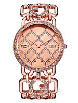Недорогие -Жен. Кварцевые Новое поступление Элегантный стиль Серебристый металл Золотистый Розовое золото Нержавеющая сталь Японский Кварцевый Розовое Золото Золотой Серебряный / Два года