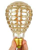 Недорогие -1шт 4 W LED лампы накаливания 1 lm E26 / E27 1 Светодиодные бусины Градиент цвета Мягкая нить Тёплый белый 220-240 V