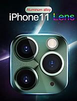 Недорогие -протектор экрана объектива из алюминиевого сплава для iphone 11/11 pro / 11 pro max / x / xs / xs max / xr / 7 8/7 8 плюс камера царапинам