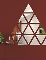 cheap -Triangle Shapes Wall Stickers Mirror Wall Stickers Decorative Wall Stickers, Acrylic Home Decoration Wall Decal Wall Decoration 1pc