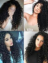 cheap -3 Bundles with Closure Hair Weaves Peruvian Hair Deep Wave Human Hair Extensions Remy Human Hair 100% Remy Hair Weave Bundles 345 g Natural Color Hair Weaves / Hair Bulk Human Hair Extensions 8-24