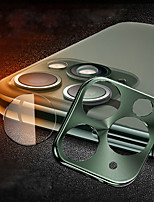 Недорогие -Объектив камеры протектор комбинированный титановый сплав HD закаленное стекло для iPhone 11/11 Pro / 11 Pro Max / X / XS / XS Макс / XR / 7 8/7 8 плюс