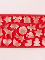 Недорогие -1шт кремнийорганическая резина Cool Необычные гаджеты для кухни Десертные инструменты Инструменты для выпечки