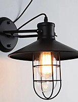 Недорогие -QIHengZhaoMing Ретро / Традиционный / классический Настенные светильники кафе / Офис Металл настенный светильник 110-120Вольт / 220-240Вольт 40 W