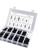 Недорогие -350 шт. / Компл. 12 размеров автомобиля канцелярской кнопки заклепки отделка клип панели интерьера ассортименты