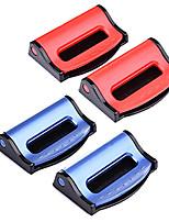 Недорогие -2 шт. Универсальные автомобильные ремни безопасности клипы безопасность регулируемая автоматическая пробка пряжка пластиковый зажим