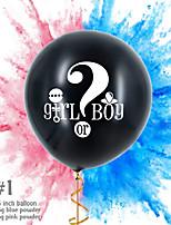 Недорогие -Воздушный шар эмульсионный 1 комплект День рождения