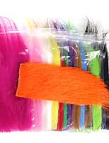 Недорогие -1 pcs Материал для вязания мушек Синтетическое волокно Ловля нахлыстом