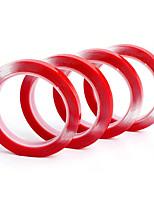Недорогие -прозрачная двухсторонняя лента из вспененной резины сильный клей красный паста прозрачный фон канцелярские принадлежности