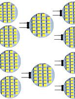 Недорогие -10 шт. 2.5 Вт светодиодные двухконтактные светильники 320 лм g4 g5 24 светодиодные шарики smd 2835 9-30 В